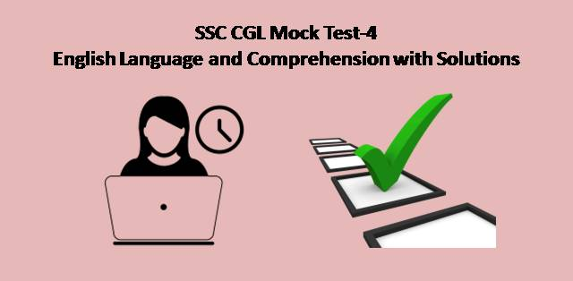 SSC CGL Mock Test-4