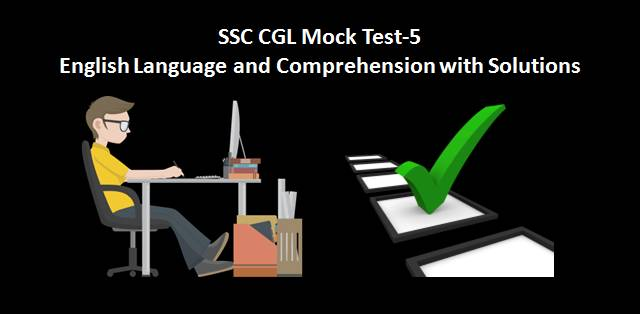 SSC CGL Mock Test 5
