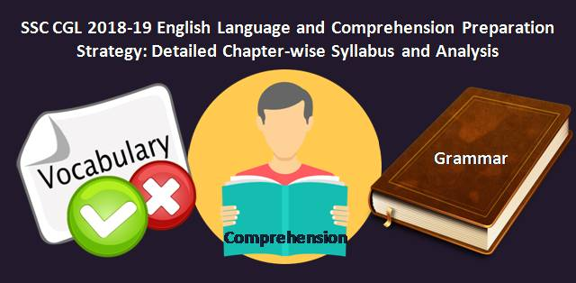 SSC CGL 2018-19 English Language Preparation Strategy: Complete