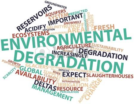 GK Questions and Answers on Environment Degradation and
