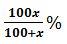 Percentage eqn3
