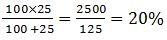 Percentage eqn4
