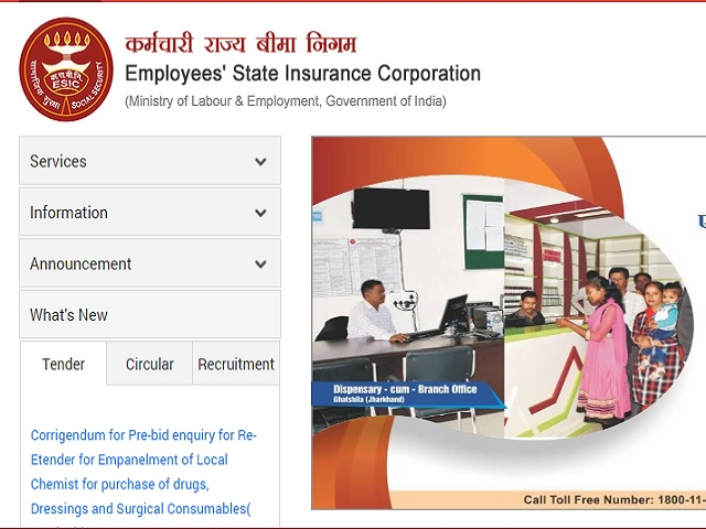ESIC Hospital Delhi Tutor Posts 2020