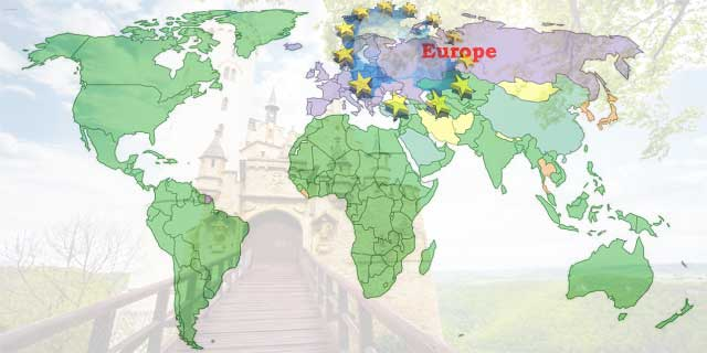 GK Questions and Answers on the Geography of Europe