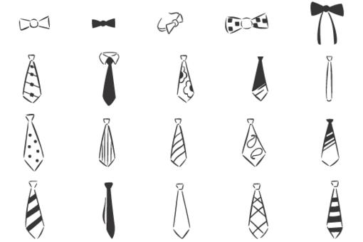 Evolution of necktie