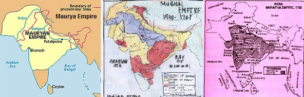 Expansions of Maurya Empire