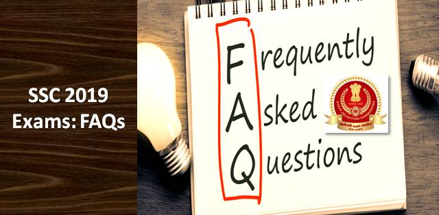 QnA VBage SSC 2019 Exam: (FAQs) Frequently Asked Questions