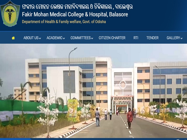 Fakir Mohan Medical College And Hospital Recruitment 2020