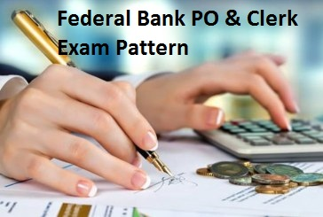 Federal Bank Exam Pattern