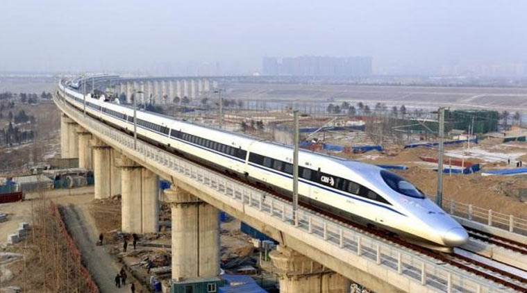 Firts Bullet train in India