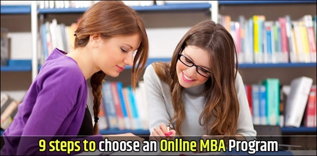 Follow these wise steps to choose an online MBA Program