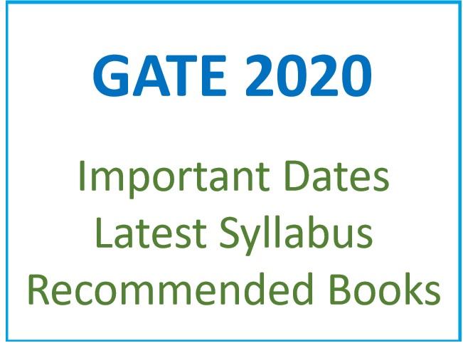 GATE 2020 की तैयारी के लिए बेस्ट बुक्स