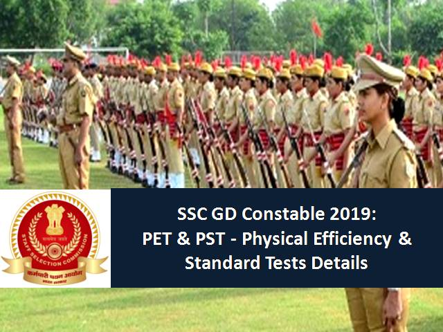 SSC GD Constable 2019 PET and PST Admit Cards out: Check
