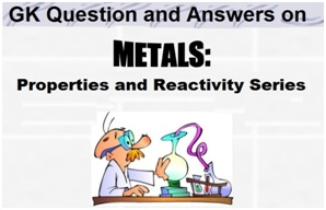 GK Q and A on Metals