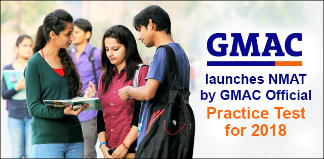 GMAC launches NMAT by GMAC Official Practice Test for 2018