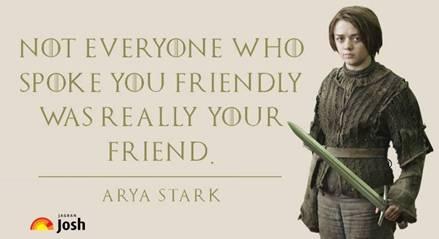 ARYA STARK, Game of Thrones, Game of Thrones Season 7, GOT Season 7