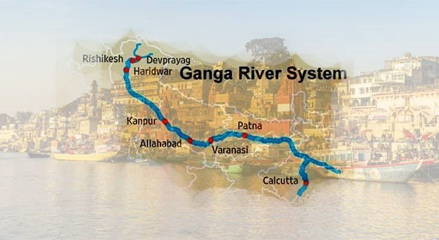 GK Questions and Answers on the Ganga River System