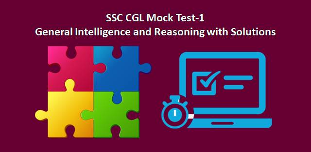 SSC CGL Reasoning Mock Test-1