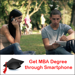 MBA Degree using your Smartphone?