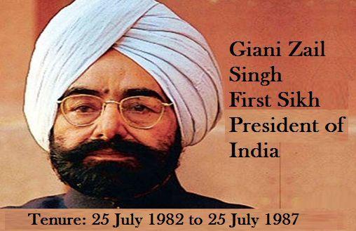 President Giani Zail Singh