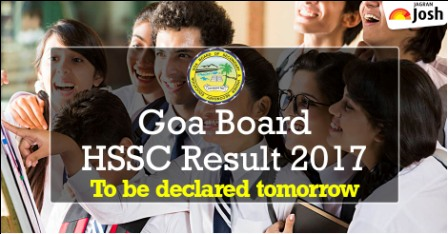 Goa board HSSC results 2017 tomorrow at 10:30 am: confirms GBSHSE