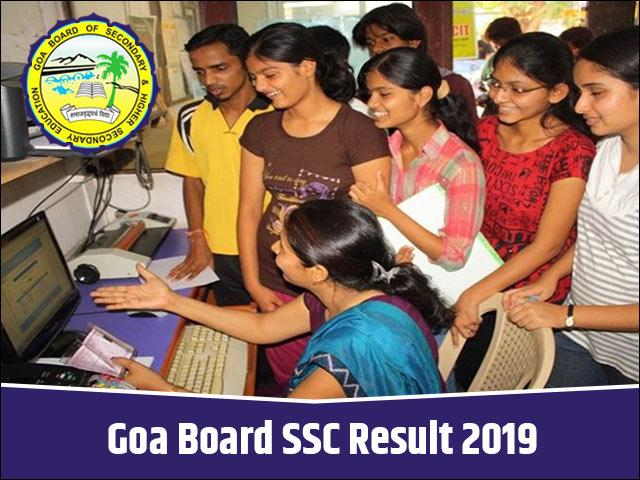 Goa-Board-SSC-Result-2019