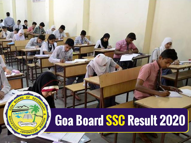 Goa Board SSC Result 2020