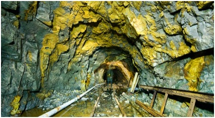 Gold Mine in Jharkhand