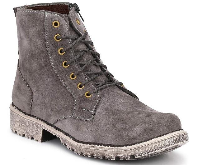 Grey Men Boots