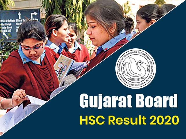 Gujarat Board HSC (12th) Result 2020