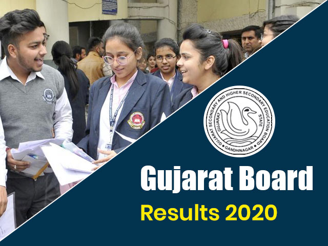Gujarat Board Results 2020