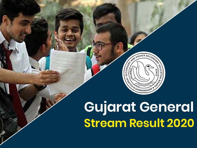 Gujarat Board HSC (12th) General Stream Result 2020