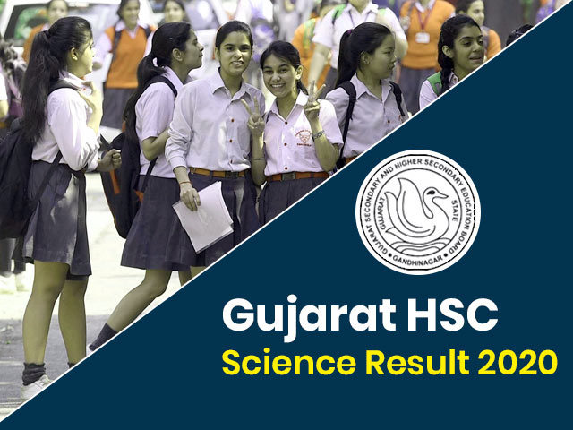 Gujarat Board HSC (12th) Science Result 2020