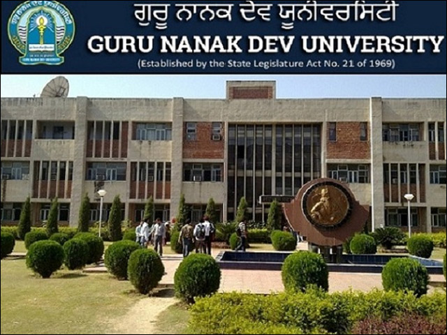 Guru Nanak Dev University Recruitment 2019