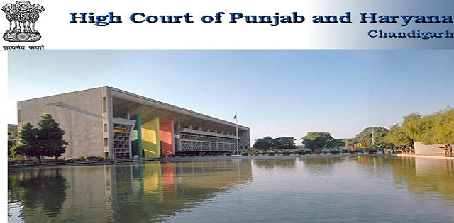 High Court of Punjab and Haryana Stenographer Posts Job