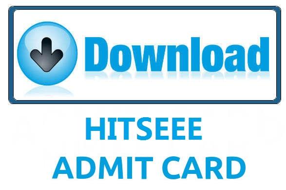 HITSEEE Admit Card
