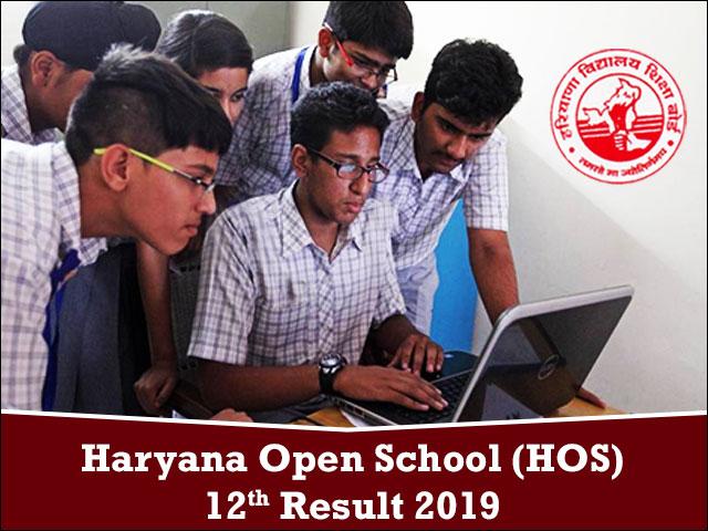 Haryana-Open-School-(HOS)-12th-Result-2019