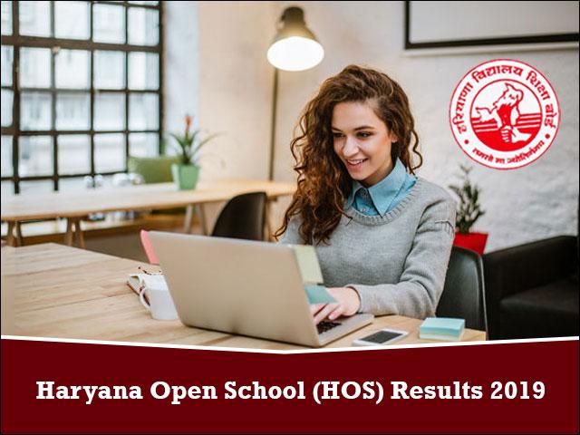 Haryana-Open-School-(HOS)-Results-2019