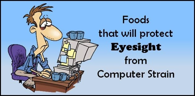 Healthy Living: Foods that will prevent eyesight from computer strain