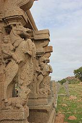 Horse Pillar