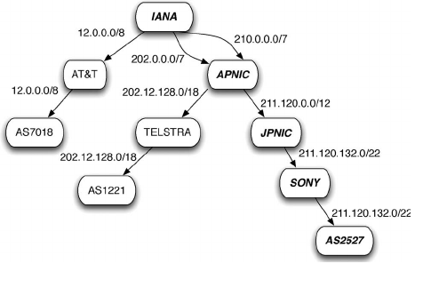 How IANA maintain IP address