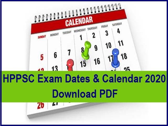 HPPSC  test Date 2019-2020
