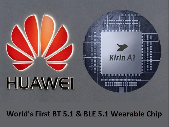 Huawei Watch GT2 Kirin A1 Chip