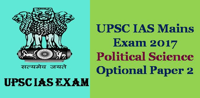 political science 2012 upsc mains 2 What are the topics in medical science optional paper of upsc what are the topics in medical science optional paper of upsc mains exam 07-06-2012 10:28 am #2.