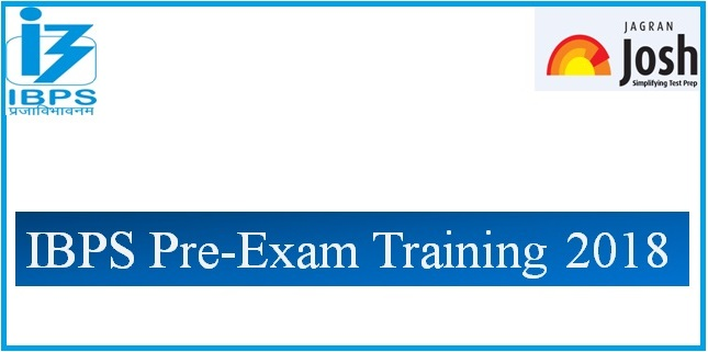 IBPS Pre-Exam Training 2018