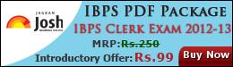 IBPS Clerk Exam 2013 Study Material