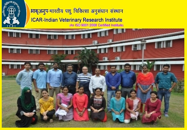 ICAR IVRI Recruitment 2019