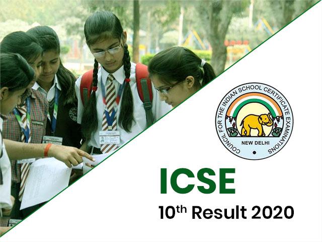 ICSE Board (10th) Result 2020