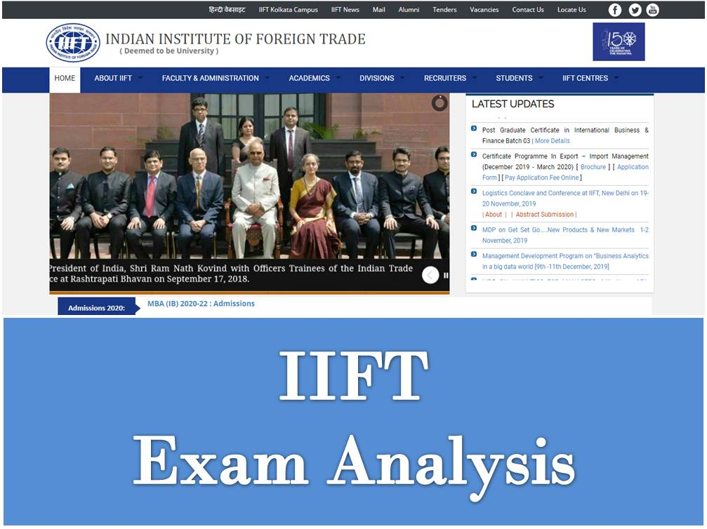 IIFT Exam Analysis