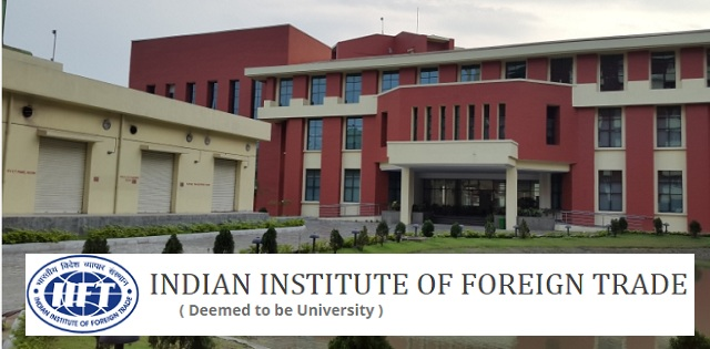 IIFT Recruitment 2018